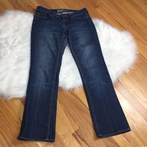 New York & Company Curvy Low Rise Bootcut Jeans